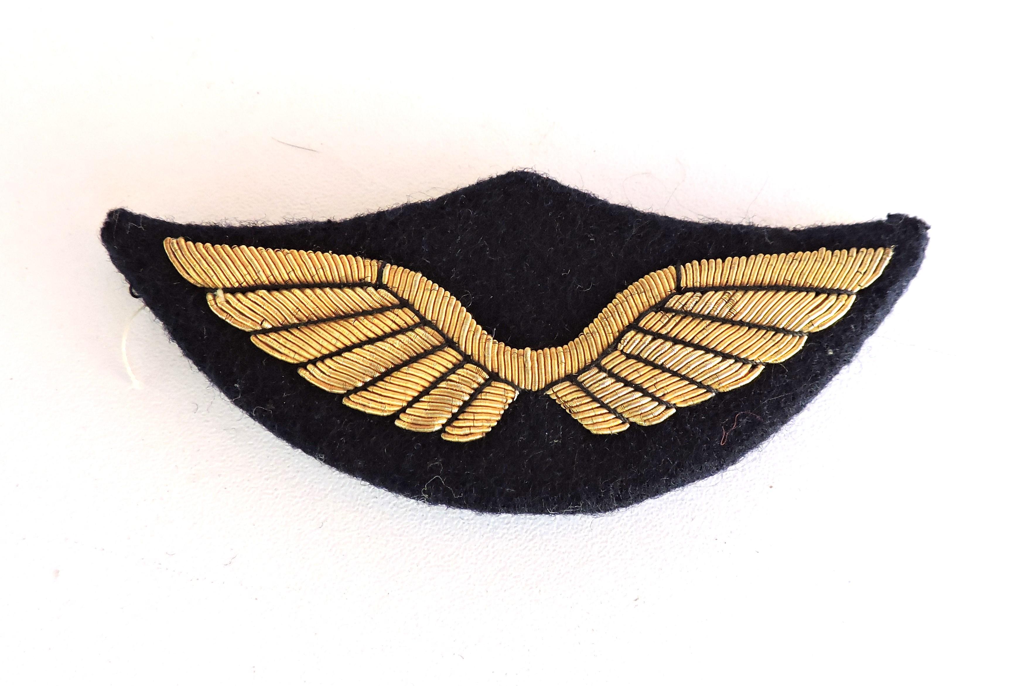 insigne de casquette d 39 officier de l 39 arm e de l 39 air. Black Bedroom Furniture Sets. Home Design Ideas