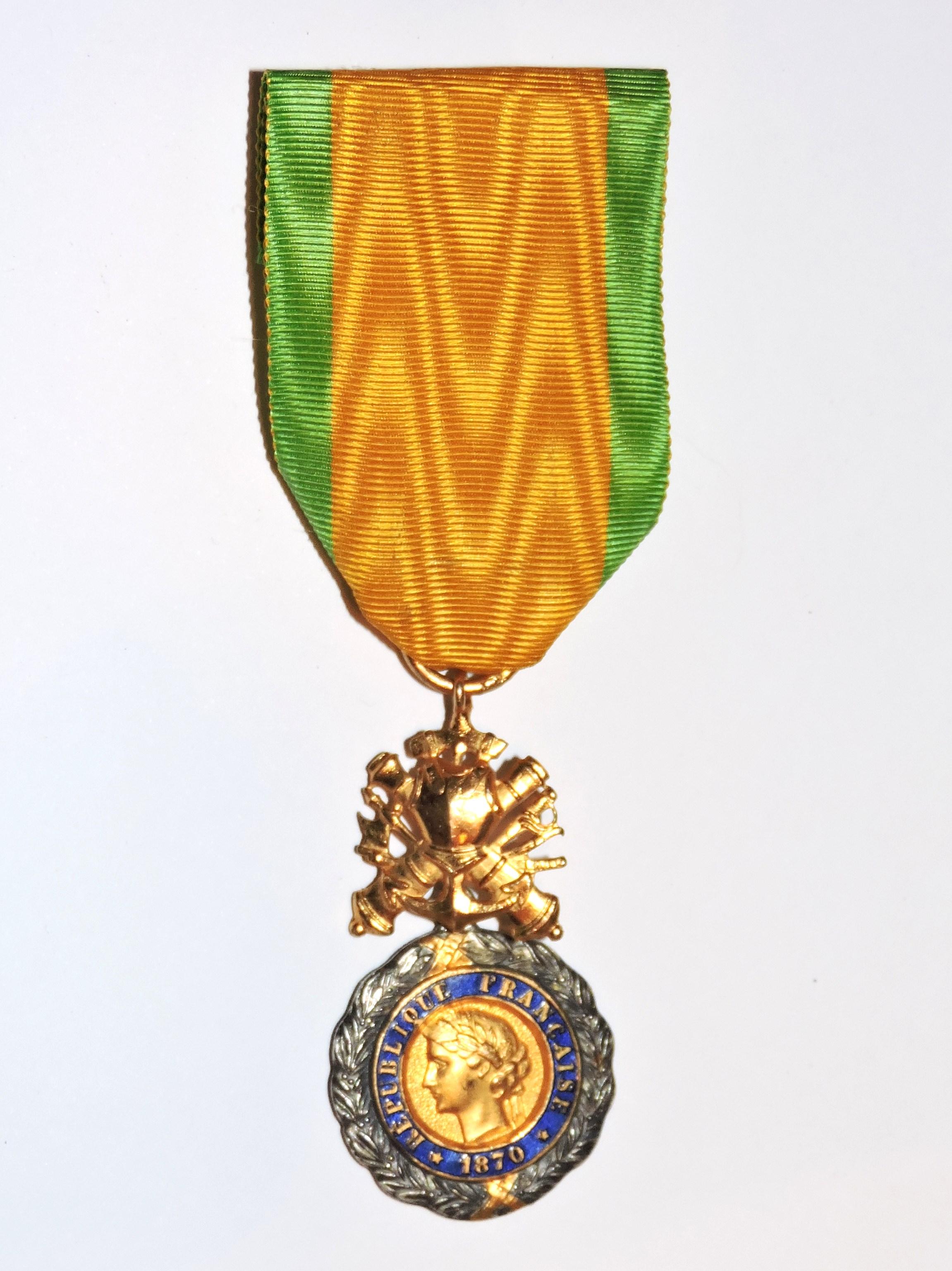"""Résultat de recherche d'images pour """"médaille militaire de 1878"""""""