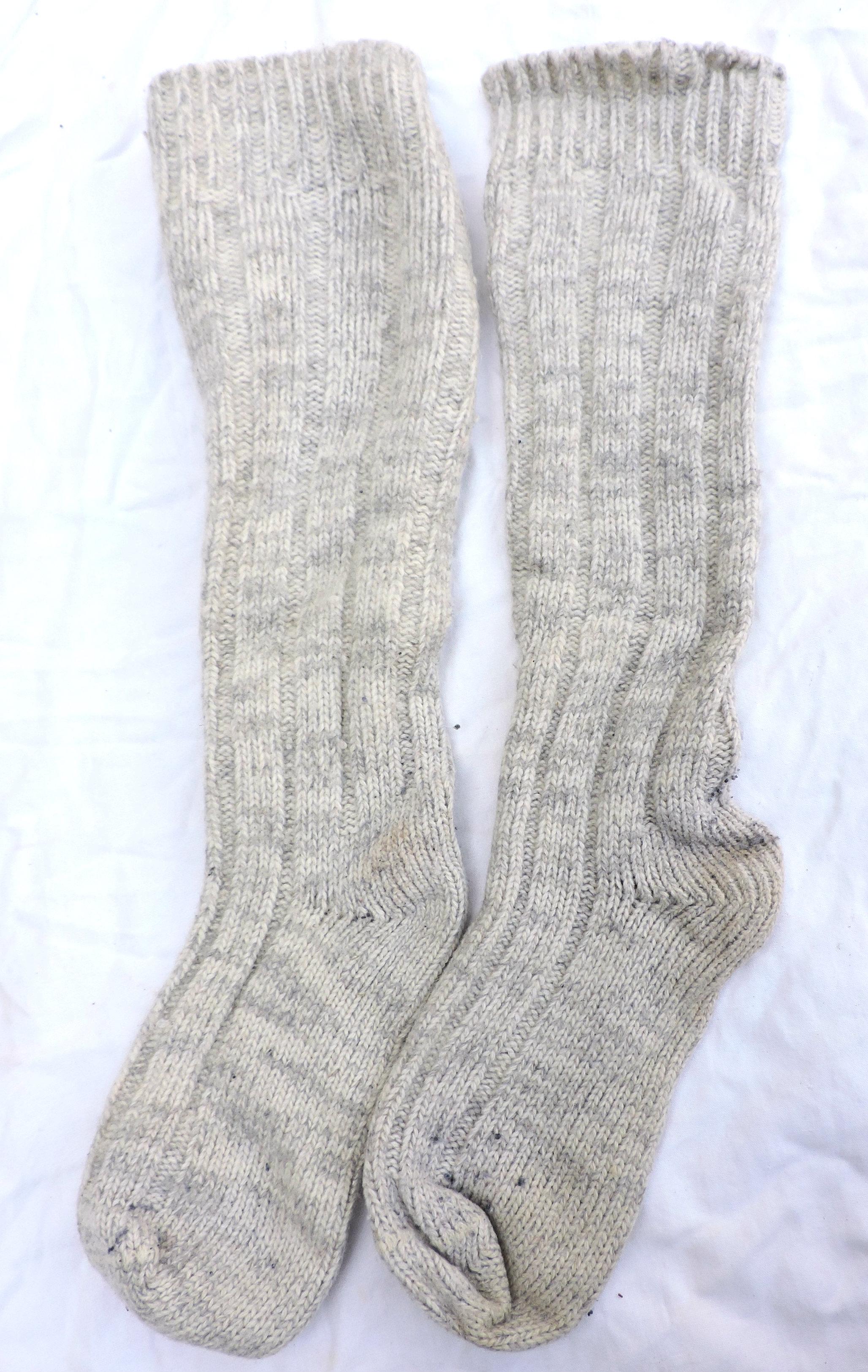 check-out 94e07 095cd Paire de chaussettes de montagne Laine