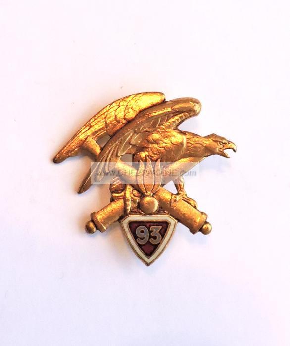 Insigne 93° Régiment D'Artillerie De Montagne
