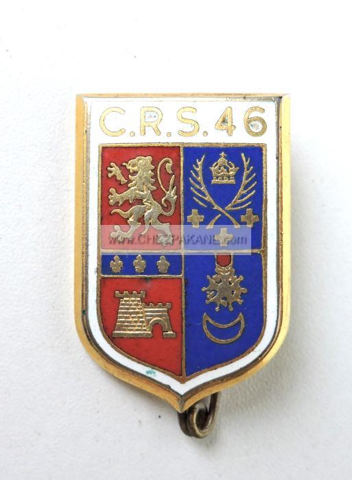 46 Email Oils Contact Usco Ltd Mail: Insigne De La CRS 46 Lyon