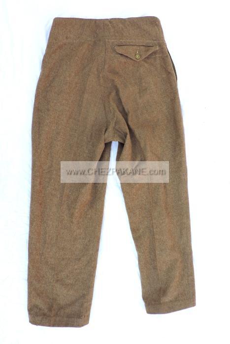 pantalon anglais pattern 1940 modifi soldat fran ais. Black Bedroom Furniture Sets. Home Design Ideas